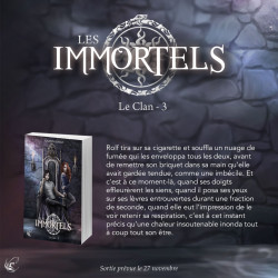 Extrait - Les Immortels T.3 : Le Clan