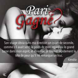 Extrait Pari Gagné de Belinda Bornsmith