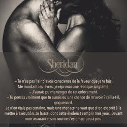 Extrait Sheridan Tome 1 de Nathalie Badiali