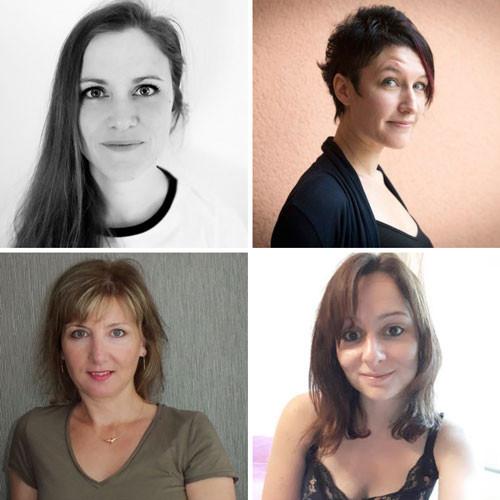 Amanda Bayle, Belinda Bornsmith, Katja Lasan, Elle Séveno